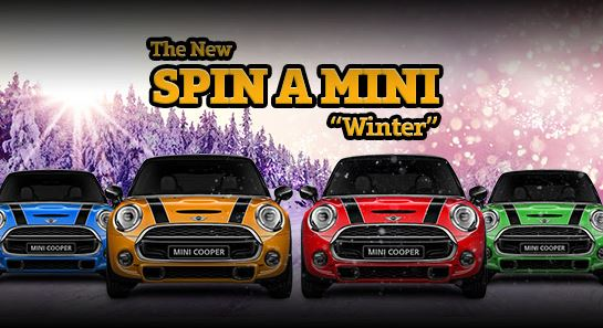 Four Mini Cooper cars and four dream holidays